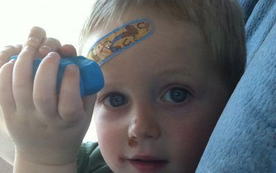 Why I Carry First Aid Essentials to the Playground